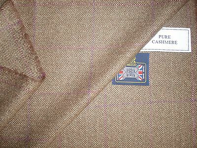100% CASHMERE JACKETING FABRIC EXCLUSIVE FOR KITON – MADE IN SCOTLAND – 2.0 m.
