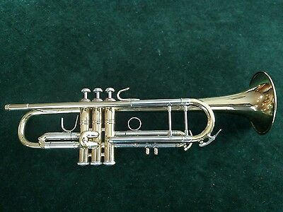 1980 Large Bore Bach Stradivarius 43* Trumpet with Extra Tuning Slide/ Player!!