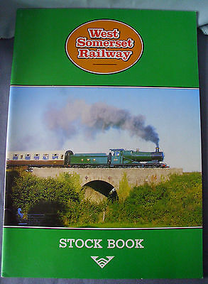 WEST SOMERSET RAILWAY - Stock Book 1990