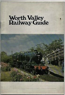 WORTH VALLEY RAILWAY GUIDE - 4th Edition 1978