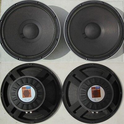 pair FOSTEX L469 woofer Laboratory Series Made In Japan 8 Ohms OVP