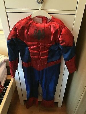 spiderman suit age 5-6 years
