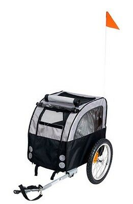 ^15@ Karlie Flamingo Doggy Liner Amsterdam Teflon Dog Bike Carrier Trailer
