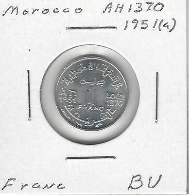 Morocco Franc, 1951 Uncirculated