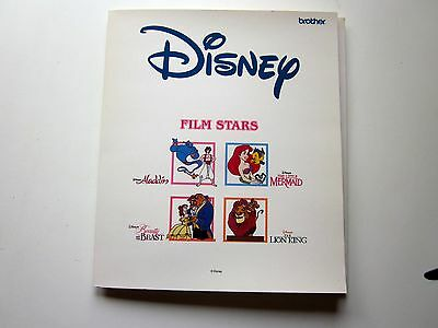 Brother Disney Embroidery Machine Film Stars Pals Card Apliques