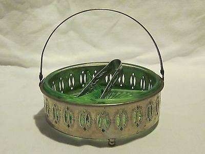 Depression Green 3-Part Handled Tray