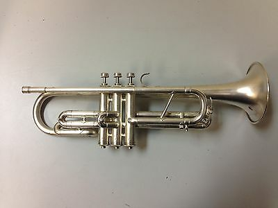 Silver Regent Trumpet / Cornet from the Ohio Band Instrument Company c. 1940