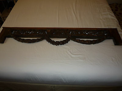 Antique PEDIMENT Door Trim Architectural Trim