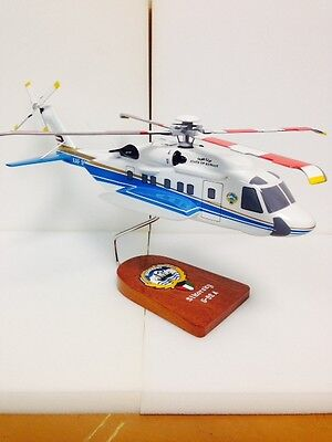 "Sikorsky S-92 ""Helibus"" flown by Kuwait government, model aircraft"