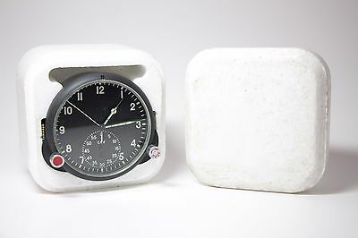 NEW!!! Soviet AirForce Cockpit Clock 60CP / 60 ChP Russian MiG/Su jets AChS.
