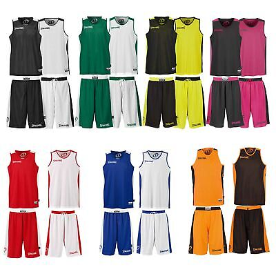 Spalding Essential Reversible Basketball Set Wende Trikot+Hose Jersey Shorts