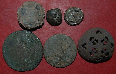 The collection of buttons 16-17 centuries
