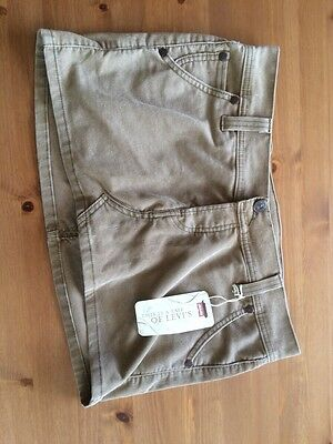 Levi's Skirt, Beige, Brand New With Tags, Size Junior 11