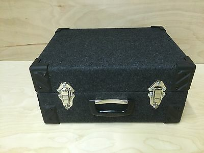 "7"" Singles Vinyl Record DJ Carry Case Storage Box Tough Strong Holds 200"