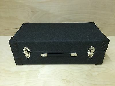 "7"" Singles Vinyl Record DJ Carry Case Storage Box Tough Strong Holds 300"