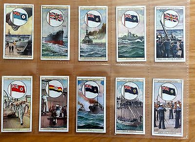Wills cigarette cards Original Flags of the Empire 1929 Very good condition25/25