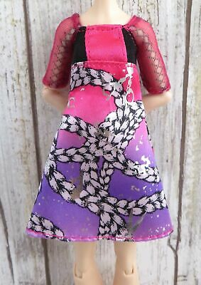 Ever After High Doll~Poppy O'Hair~1st Chapter~Pink Purple Scissor Dress