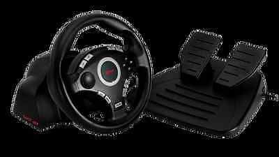 Volante Trust 16064 Gxt 27 Force Vibration Steering Wheel Ps3 Y Pc