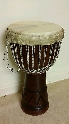 large djembe, Africa  drum with carry bag