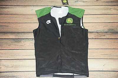 Brand New John Deere  Ladies (M) Sleeveless Cycling Jersey Champion Systems