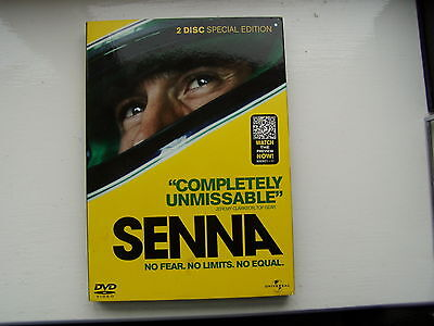 """Senna Dvd 2 Disc Special Edition - """"completely Unmissable"""""""