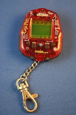 Tiger 1998 Dreamworks Small Soldiers Electronic Virtual Giga Pets Video Game