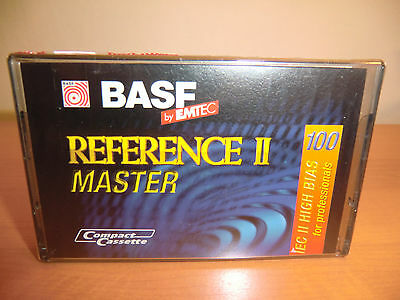 BASF Reference II MASTER 100 - Audio cassette NEW / NEU Sealed !!! SELTEN !!!