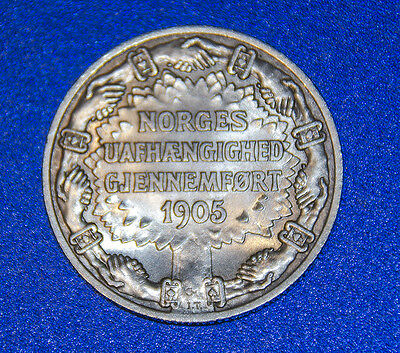 Norway 2 kroner independence coin 1906