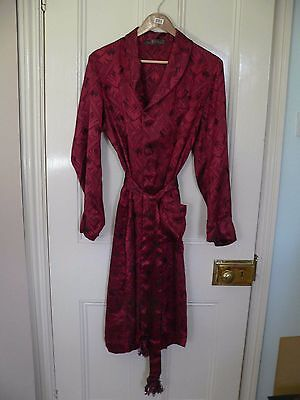 Rare original Victorian / Edwardian labelled dressing gown / smoking jacket