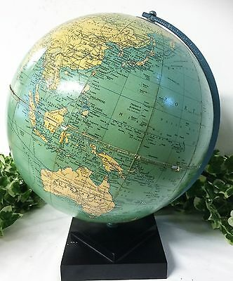 "Vintage Philips 10"" Challenge Globe London Geographical Inst. 1964 Great Britain"