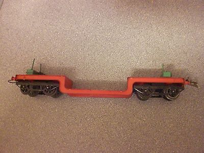 vintage o gauge hornby meccano series cable trolley wagon