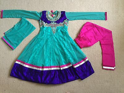 Salwar Kameez (Anarkali ) Indian Pakistani Wear children indian size 38