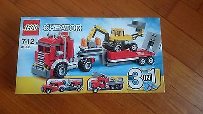 Lego Creator Camion 3 In 1 31005 Nuovo