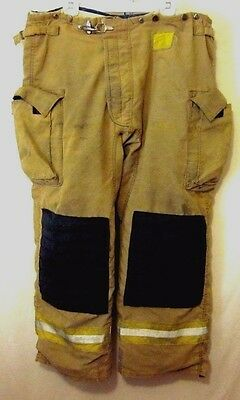 Morning Pride Pants Turnout Gear 42x32 Structural Fire Fighting Gear Firefighter