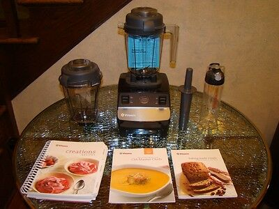 Vitamix CIA Creations Blender - Culinary Institute America + Smoothie Container