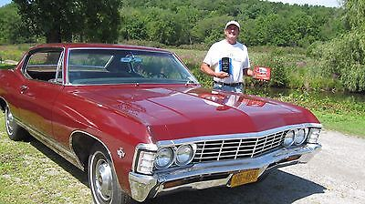 1967 Chevrolet Caprice  1967 Chevrolet Caprice 2DR Custom Coupe