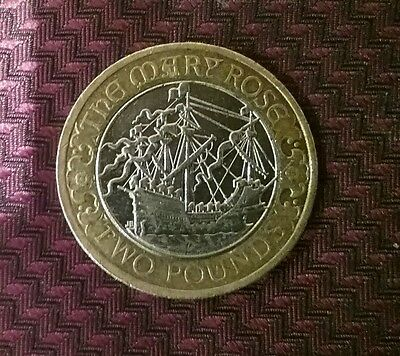 2011 The Mary Rose £2 Two Pound Coin