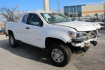 2016 Chevrolet Colorado 2WD Ext Cab 2016 Chevrolet Colorado Ext Cab Damaged Salvage Perfect Project Priced to Sell!