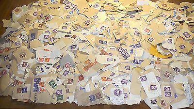 A Large Amount of 1950's Great Britain Used Stamps. 2000+.