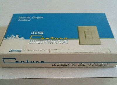 Leviton Centura Promtional Samples from 50s or 60s