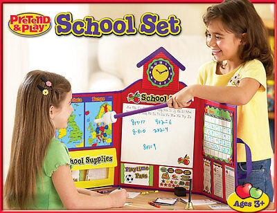 Learning Resources Pretend & Play School Set for Children – NEW