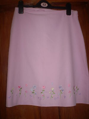 M & S pink skirt Size 16 yrs