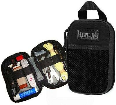 (Black) Micro Pocket Organizer Maxpedition 0262 EDC Backpack