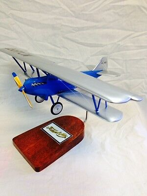Waco Travel Air biplane, 1929 design with OX5 engine, model aircraft
