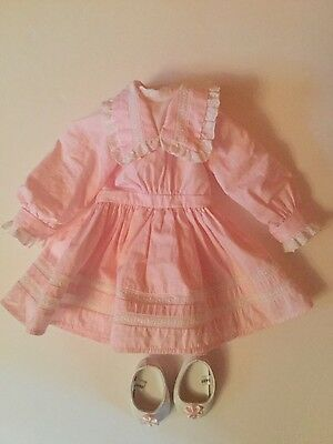 American Girl Nellie Spring Party Dress and shoes
