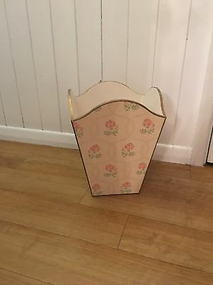 Vintage Shabby Chic Retro Wooden Storage Umbrella Box