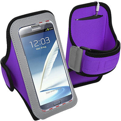 Armband Exercise Gym Jogging Biking Hiking Running Case For Galaxy Note 5 4 3 2
