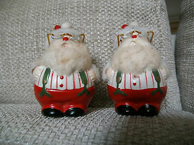 Father Christmas Salt And Pepper Pots.