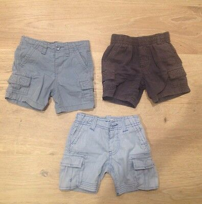3 X Boys Tailored Shorts Size 1