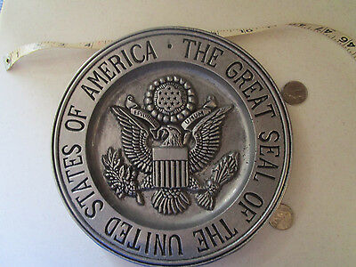 The Great Seal of the United States of America Metal Plate